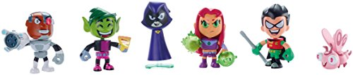 Teen Titans Go! Mini Figure, 6-Pack