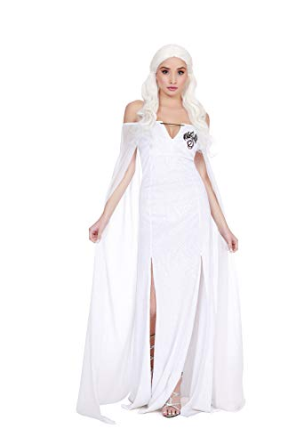 Game Of Thrones Halloween Costumes 2019 (Dreamgirl Women's Dragon Beauty, Costume,)