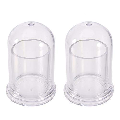 Toothpick Holder, 2 Pack Toothpick Dispenser Acrylic Toothpick Holder Pocket Storage Organizer Box Case Glass Like Round Clear