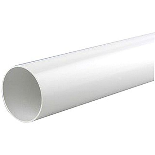 WASTE PIPE WHITE PUSH FIT 32MM X 3M Engineering Materials Tube FLOWPLAST8769