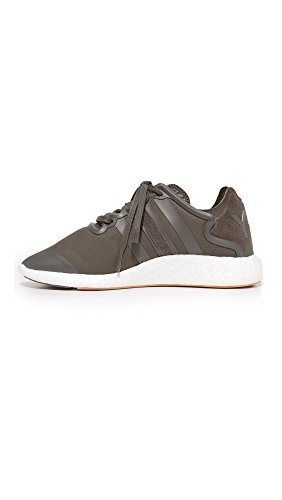 Y-3 Womens Y-3 Yohji Run Sneakers Nero Oliva / Bianco