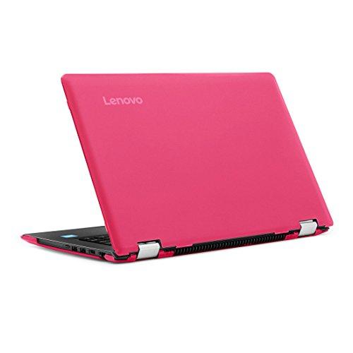 Funda rígida mCover para 14 pulgadas de Yoga 510 computadoras portatiles (** NO compatible con Yoga 530 / Yoga 520 de 14 pulgadas **)  (Rosa)