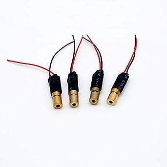 5mw laserdiode rojo 650nm punto laser /_ LASER DIODO módulo /_ /< 3v