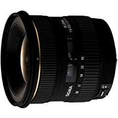 Designed exclusively for Nikon digital SLR cameras capable of wide-angle photography, the Sigma 10-20mm f/4-5.6 lens is a powerful tool for landscape photography and other wide-angle applications. The lens offers an ultra-wide angle of view o...