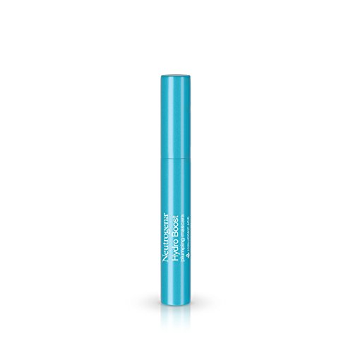 Neutrogena Hydro Boost Plumping Mascara Enriched with Hyaluronic Acid, Vitamin E, and Keratin, Black 02, .21 oz