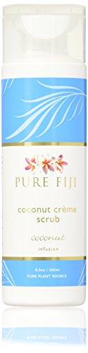 (Pure Fiji Creme Scrub, Coconut, 8.5 Ounce)