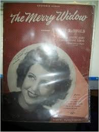 - The Merry Widow (Souvenir Album) Song Book (Jeanette MacDonald on Cover) ~ 1934