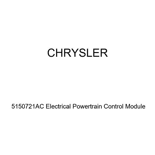 (Genuine Chrysler 5150721AC Electrical Powertrain Control Module)