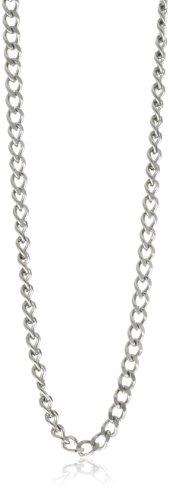 Charles-Hubert, Paris 3911-W Stainless Steel Pocket Watch Chain by Charles-Hubert, Paris