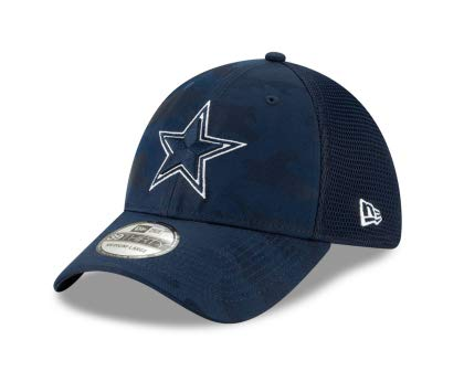 Dallas Cowboys New Era Camo Front Neo 39Thirty Cap