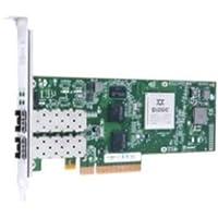 QLogic Network QLE8360-CU-CK 10Gb Sigle Port FCoE and iSCSI CNA PCIex8 No Transceivers Brown Box