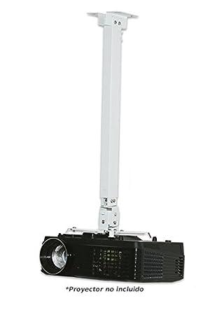 Soporte de Techo para proyector Universal, admite hasta 20kg (Soporte Universal de 180m)