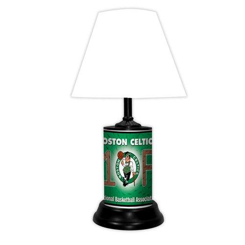 Celtics Lamp (Boston Celtics NBA #1 Fan Team Logo License Plate made Desk Lamp with shade)