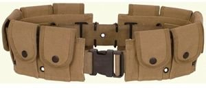 Fox Outdoor Products Military Belt, Khaki]()