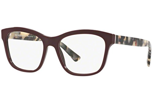 Burberry Women's BE2227 Eyeglasses Bordeaux 54mm