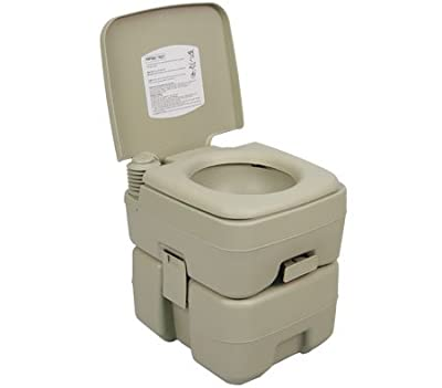 Palm Springs Outdoor 5 Gal Portable Outdoor Camping Recreation Toilet