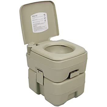Palm Springs Outdoor 5 Gal Portable Outdoor Camping Recreation Toilet. Amazon com  Camco Standard Portable Travel Toilet  Designed for