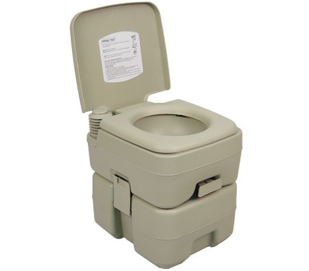 Palm Springs Outdoor 5 Gallon Portable Toilet