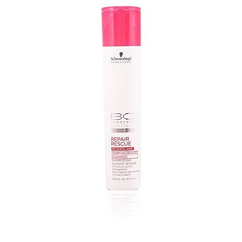(Schwarzkopf Schwarzkopf Bc Repair Rescue Reversilane Deep Nourishing Shampoo (for Thick To Normal Damaged Hair), 250 Ml/8.5 Ounce, 8.5 Ounce)