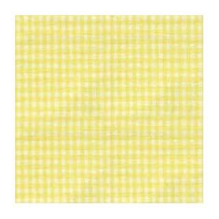"""BabyDoll Gingham Cradle Sheet, Yellow, 15""""x33"""""""