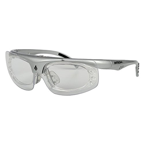 (Ektelon RX Flip Protective Eyewear (Silver/Black))