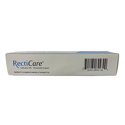 Recticare Anorectal Cream 1 Oz (Pack of 2) by Recticare