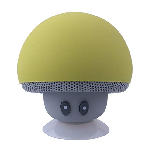 Weilifang Cartoon Mushroom Bluetooth Speaker Suction Cup Phone Bracket Portable bluetooth speaker Portable Outdoor Small…
