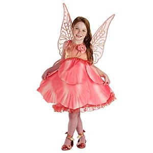 Disney Store Tinkerbell Fairies Rosetta Deluxe Costume Rose Pink Flower Faires XXS 2 3  sc 1 st  Amazon.com : disney fairy costume  - Germanpascual.Com