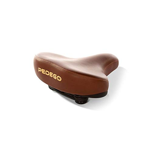 Pedego Bike Memory Foam Saddle – Brown