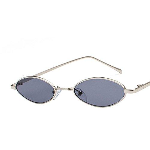 Aoligei Retro lunettes de soleil métal art bord mince eau lunettes de film océan gouttelettes ovale lunettes de soleil Yy4qBsotOJ