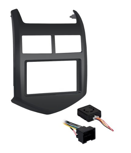 - Metra 99-3012G-LC Single/Double DIN Dash Installation Kit for 2012-Up Chevy Sonic Vehicles