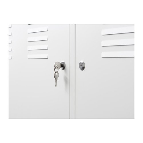 Ikea White Cabinet Tv Stand Multi Use Lockable 608938304889 Ebay