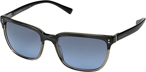 Burberry  Men's 0BE4255 Top Striped Blue On Grey/Blue Gradient One - Burberry Blue Sunglasses