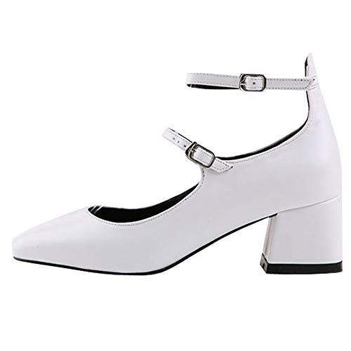 Retro otoño Baja Trabajo de Cuero EU Zapatos de 40 y FLYRCX Primavera Boca señoras UE cómodo Moda de Individuales tacón Zapatos Zapatos Zapatos Antideslizante 40 z5nYRqfIw