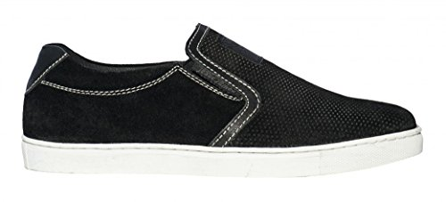 WEST COAST CHOPPERS Schuhe Outlaw Suede Slip-Ons Black Black