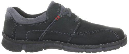 Josef Seibel Schuhfabrik GmbH Willow 05 - Zapatos casual de cuero para hombre Negro