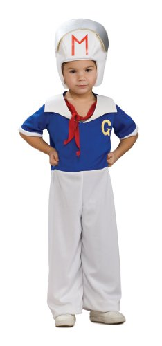 Cute Speed Racer Kids Halloween Costume size -