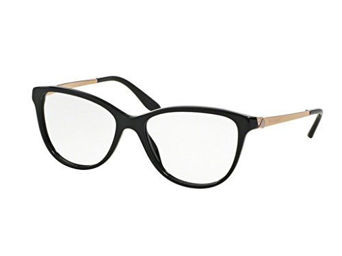 Bvlgari Women's BV4108B Eyeglasses Black (Bulgari Eyeglasses)