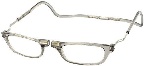 - Clic XXL Magnetic Reading Glasses in smoke, +2.50