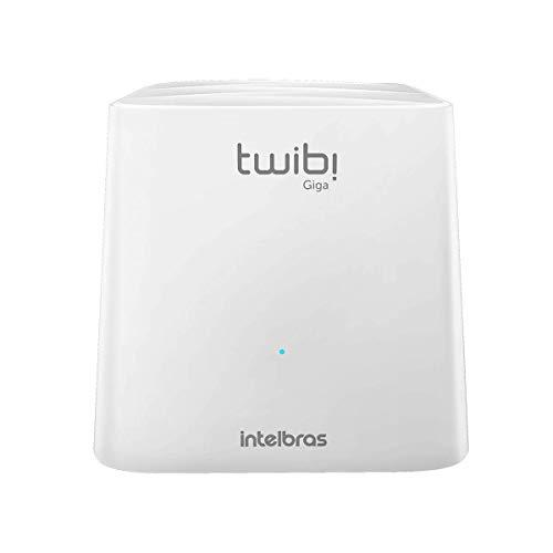 Roteador Wireless de Alta Potencia Twibi Giga, Intelbras, Dispositivos de Conexão em Rede, Branca, Único
