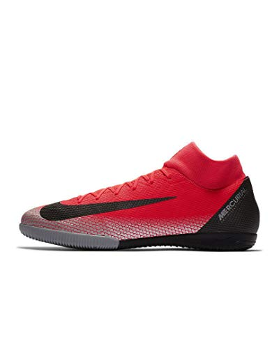 Nike Men's SuperflyX 6 Academy CR7 Indoor Soccer Shoes (7 M US) Red