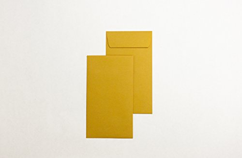 National Commercial Office Products- #7 Coin Envelope- Brown Kraft- 3 1/2