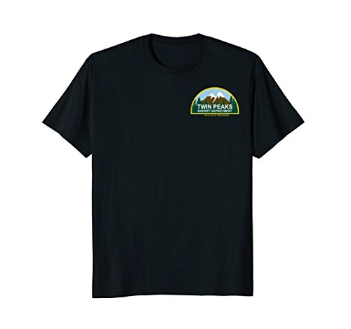 Sheriffs Department Patch - Twin Peaks Sheriff Department Faux Law Patch Graphic T-Shirt