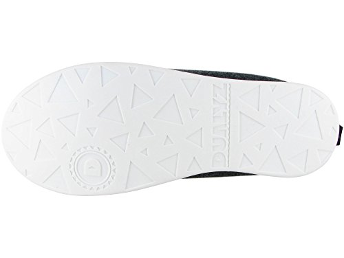 Dualyz Unisex Kush Classic Slipper Met Afneembare Zool Donkergrijs / Wit