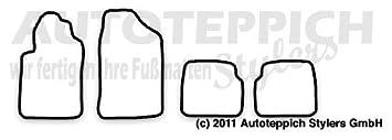 Eisernes Kreuz Auto Fußmatten für Audi A8 D3 4E Bj.02-10