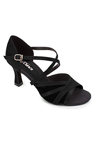So Bl162 Standard Latintanzschuhe Schwarz Black Black Danca Black amp; Damen RRAqaHwT