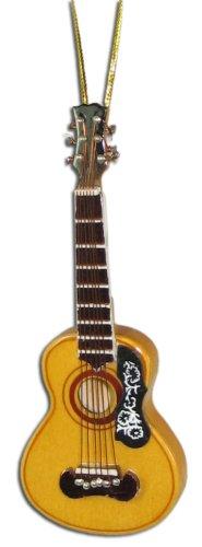"Miniature Spanish Acoustic Guitar Christmas Ornament 4"""