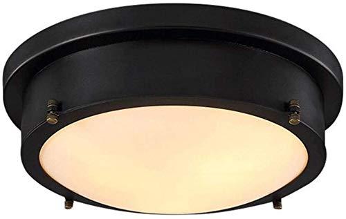 Luz de techo LED retro Lámparas de techo vintage Iluminación de ...