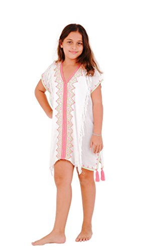 SHU-SHI Girls Toddler Swimsuit Cover up Tunic