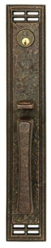 LK2 Exterior Entrance Front Door Handle Mortise Lockset (Entrance Door Mortise)